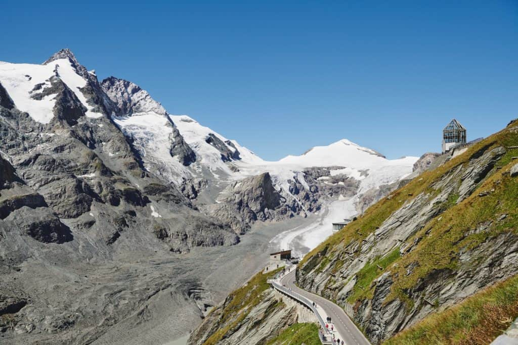 Großglockner, höchster Berg Ostalpen - Österreich, Kärnten