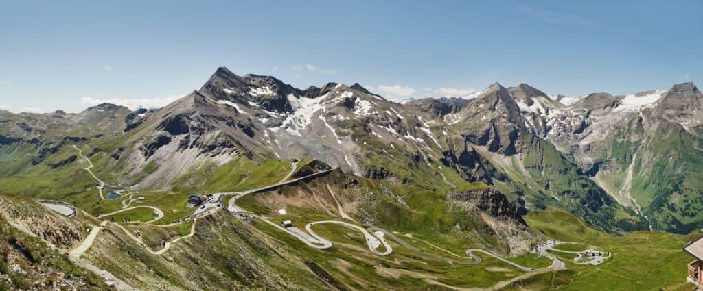 Gipfel und Berge im Nationalpark Hohe Tauern