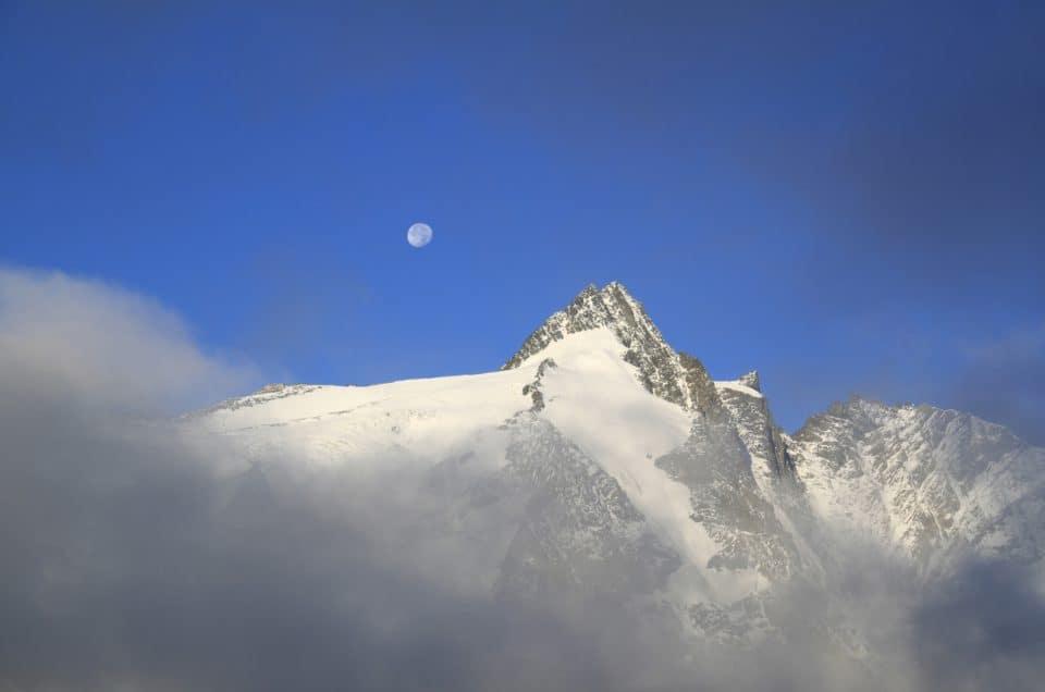 Großglockner - höchster Berg in Österreich