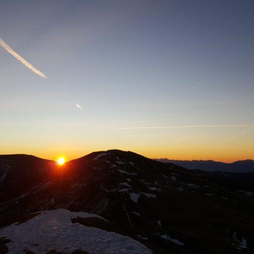 Winterwanderung Turracher Höhe mit Sonnenaufgang - Urlaub & Wandern in Österreich