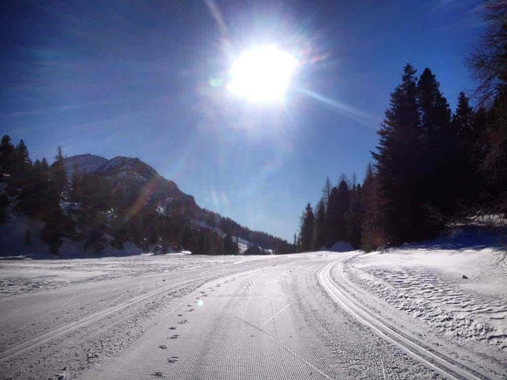 Langlaufloipen auf der Turracher Höhe - Urlaubsort zwischen Steiermark & Kärnten in Österreich