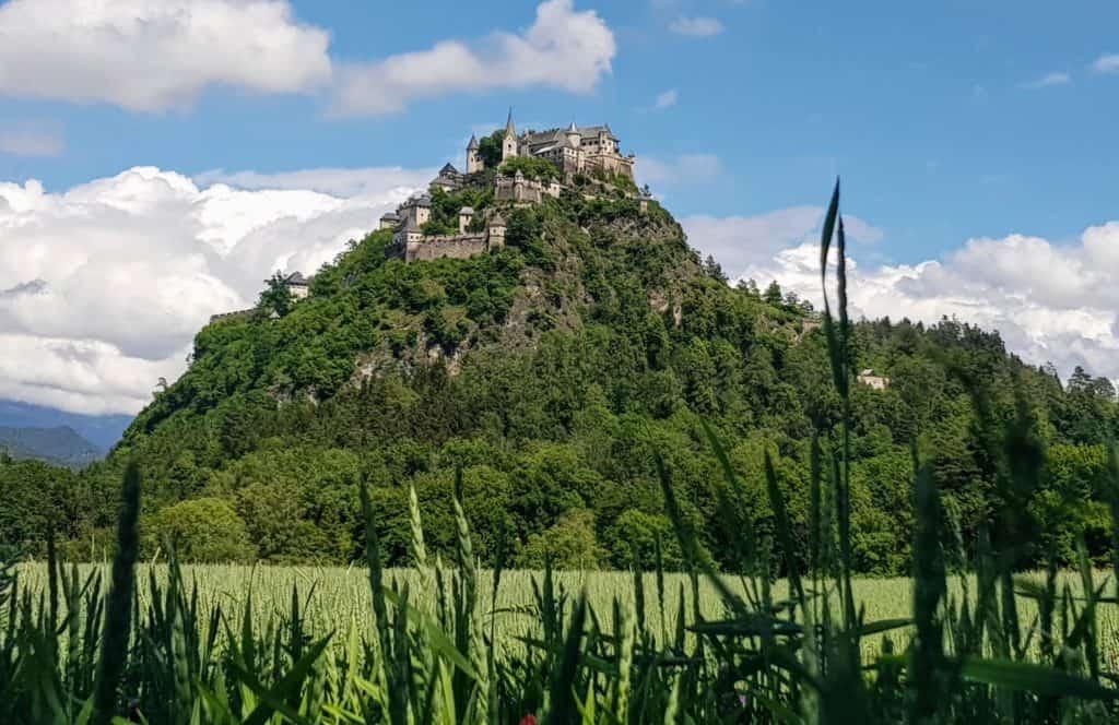 Burg Hochosterwitz bei Saisonstart