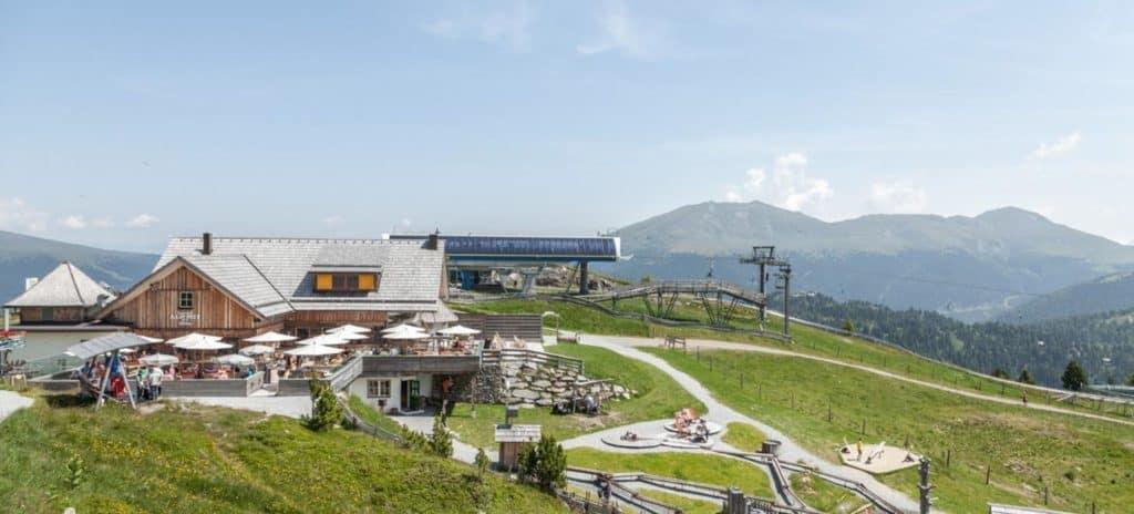 Ausflugsziel Nockys Almzeit auf der Turracher Höhe in Kärnten und Steiermark