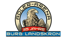 Die Adlerarena Burg Landskron bei Villach in Kärnten ist eines der TOP Ausflugsziele in Kärnten - Logo Ausflugsziel