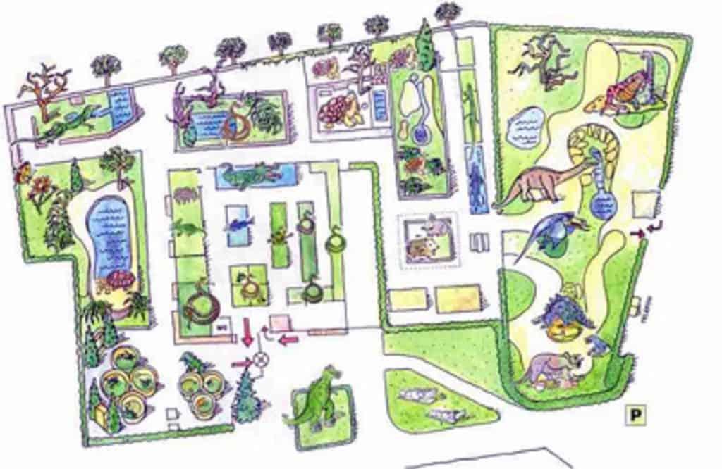 Ausflugsziel Klagenfurt Reptilienzoo Happ Plan