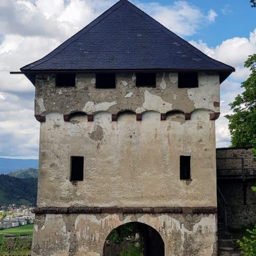 Khevenhüllertor - Burgtore auf der Hochosterwitz, Ausflugsziele Mittelalter in Kärnten, Österreich