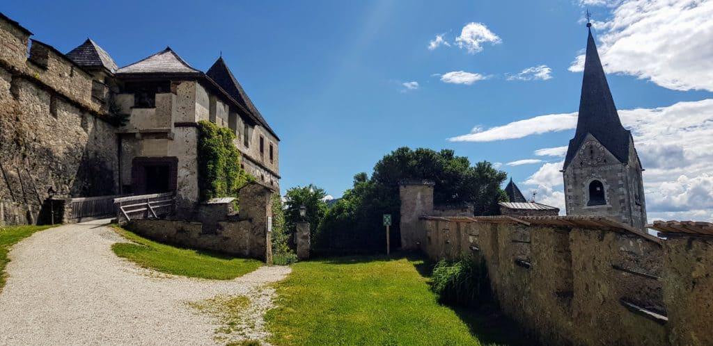 Kulmertor Burg Hochosterwitz - Sehenswürdigkeit in Österreich