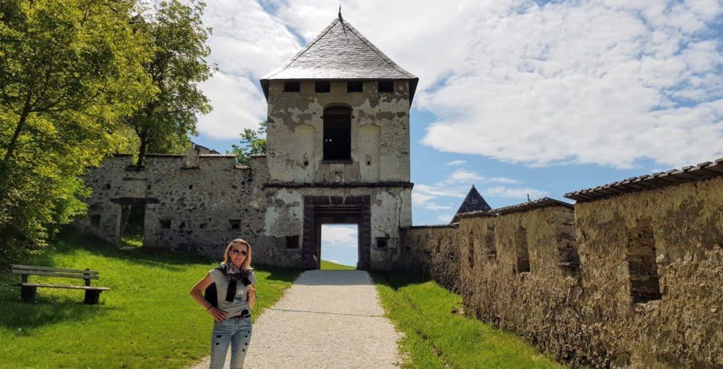 Landschaftstor zu Ehren der Kärntner Landschaft auf Burg Hochosterwitz