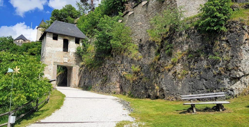 Reisertor bei Ausflug auf Burg Hochosterwitz in Österreich