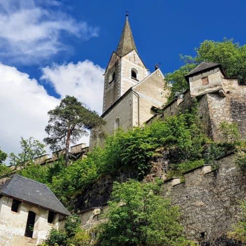 Reisertor - Burgtor auf Hochosterwitz - Sehenswürdigkeit und Ausflugsziel Nähe Klagenfurt und St. Veit in Kärnten