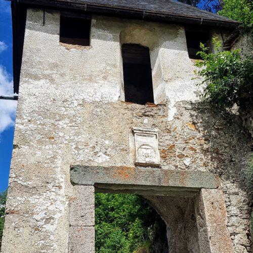 Reisertor - Burgtor auf Hochosterwitz - Sehenswürdigkeit und Ausflugsziel in Österreich, Nähe Klagenfurt am Wörthersee