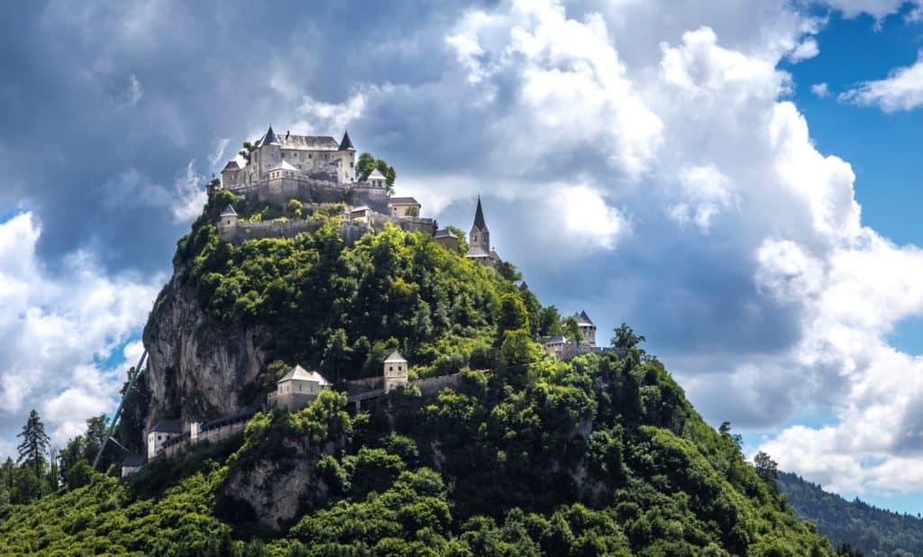 Burg Hochosterwitz Österreich - Ritterfest im Juli