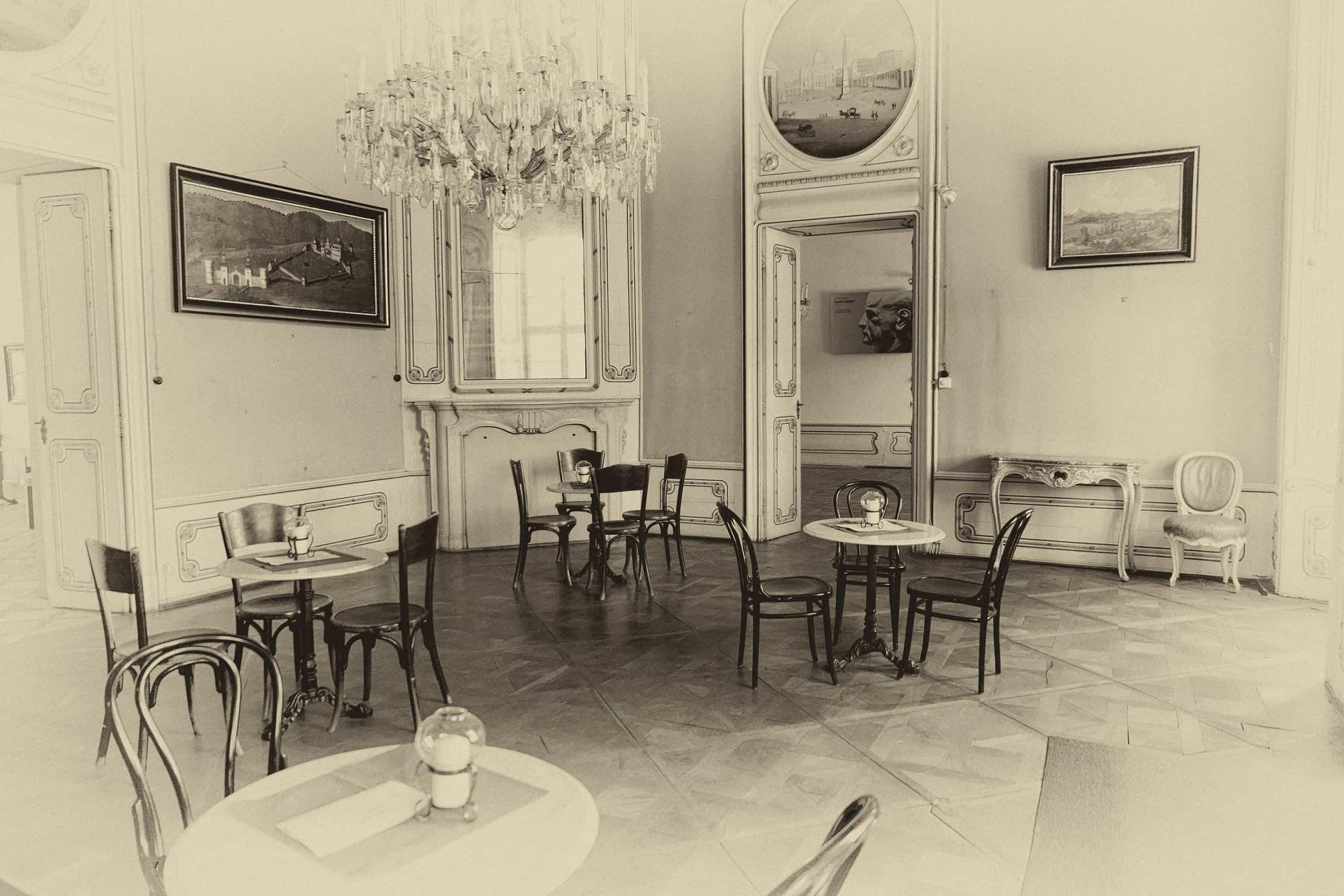 Schlosscafe Rosegg in der Carnica Region Rosental für Veranstaltungen und Ausflüge in Kärnten. Auch heiraten im Schloss.