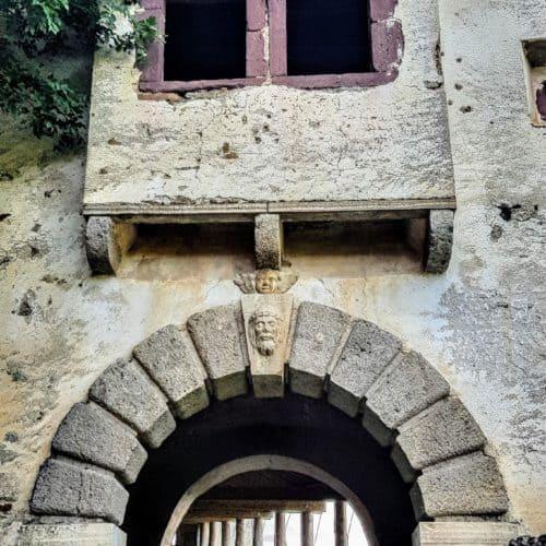 Burgtore Hochosterwitz - Wächtertor. Mittelalterliche Sehenswürdigkeiten in Kärnten, Nähe Klagenfurt und St. Veit