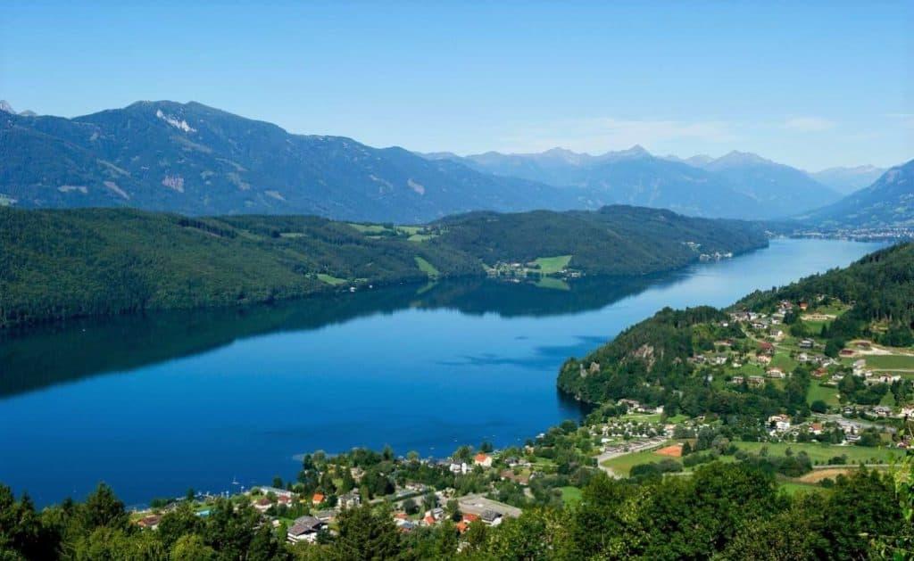 Millstätter See Orte Landschaft & Ausflugsziele