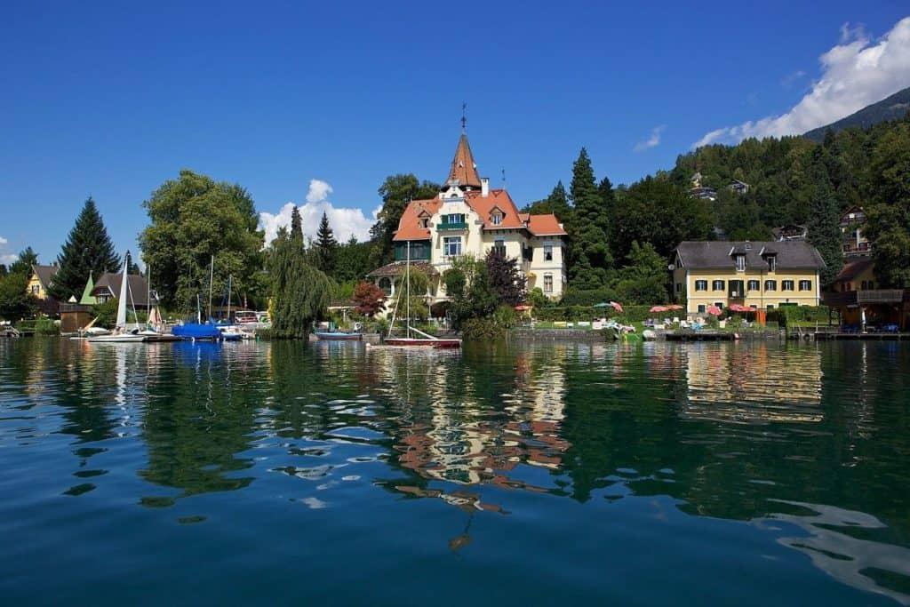 Millstätter See Millstatt Villa Verdin Geheimtipp Kärnten