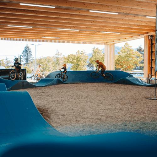 Ausflugsziele Villach Indoor - Pumptrack Faaker See