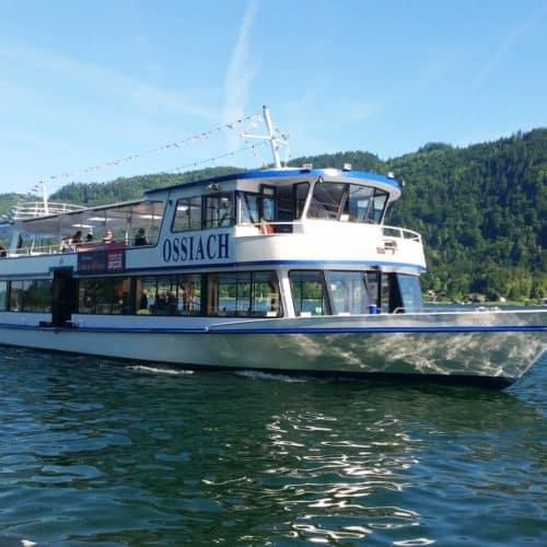 Ausflüge mit dem Schiff am Ossiacher See - Urlaubsregion Villach in Kärnten