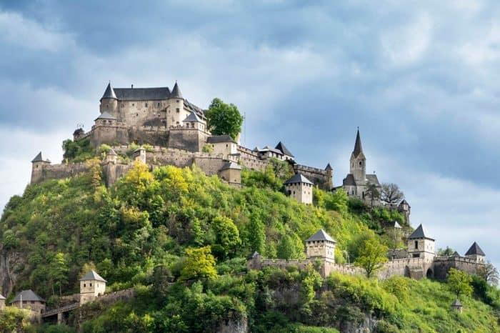 Burg Hochosterwitz in Mittelkärnten