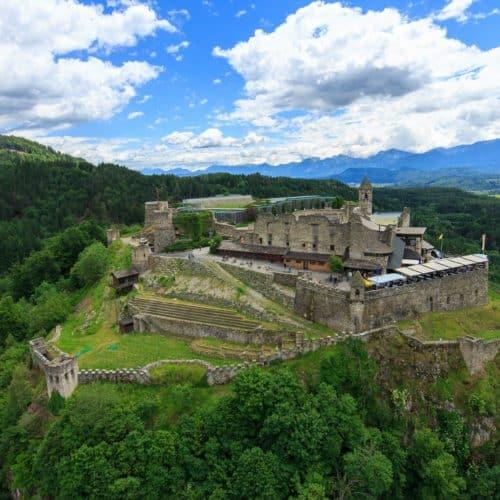 Burg Landskron - Region Villach in Kärnten, Österreich