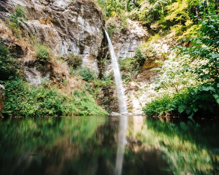 Finsterbach Wasserfälle Region Villach Ossiacher See