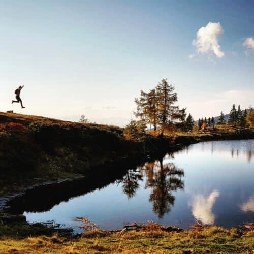 Ausflugstipp für die ganze Familie in Kärnten - Schwarzsee Verditz, Region Villach - Gerlitzen