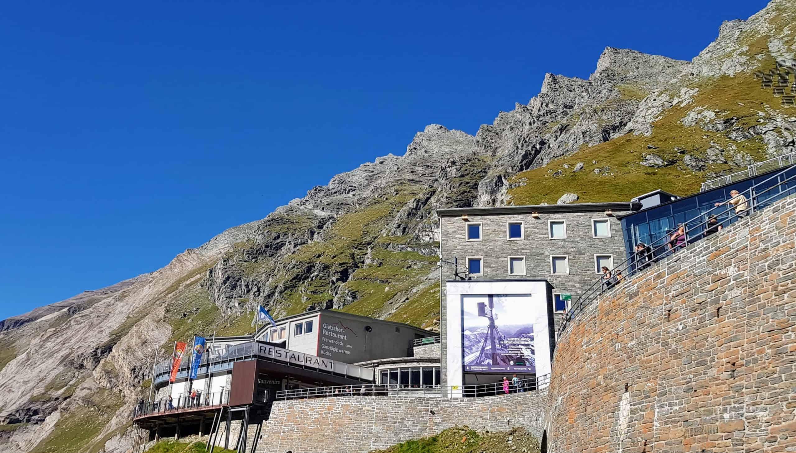 Restaurant & Besucherzentrum auf Kaiser Franz Josefs Höhe bei Grossglockner Hochalpenstrasse - Österreich