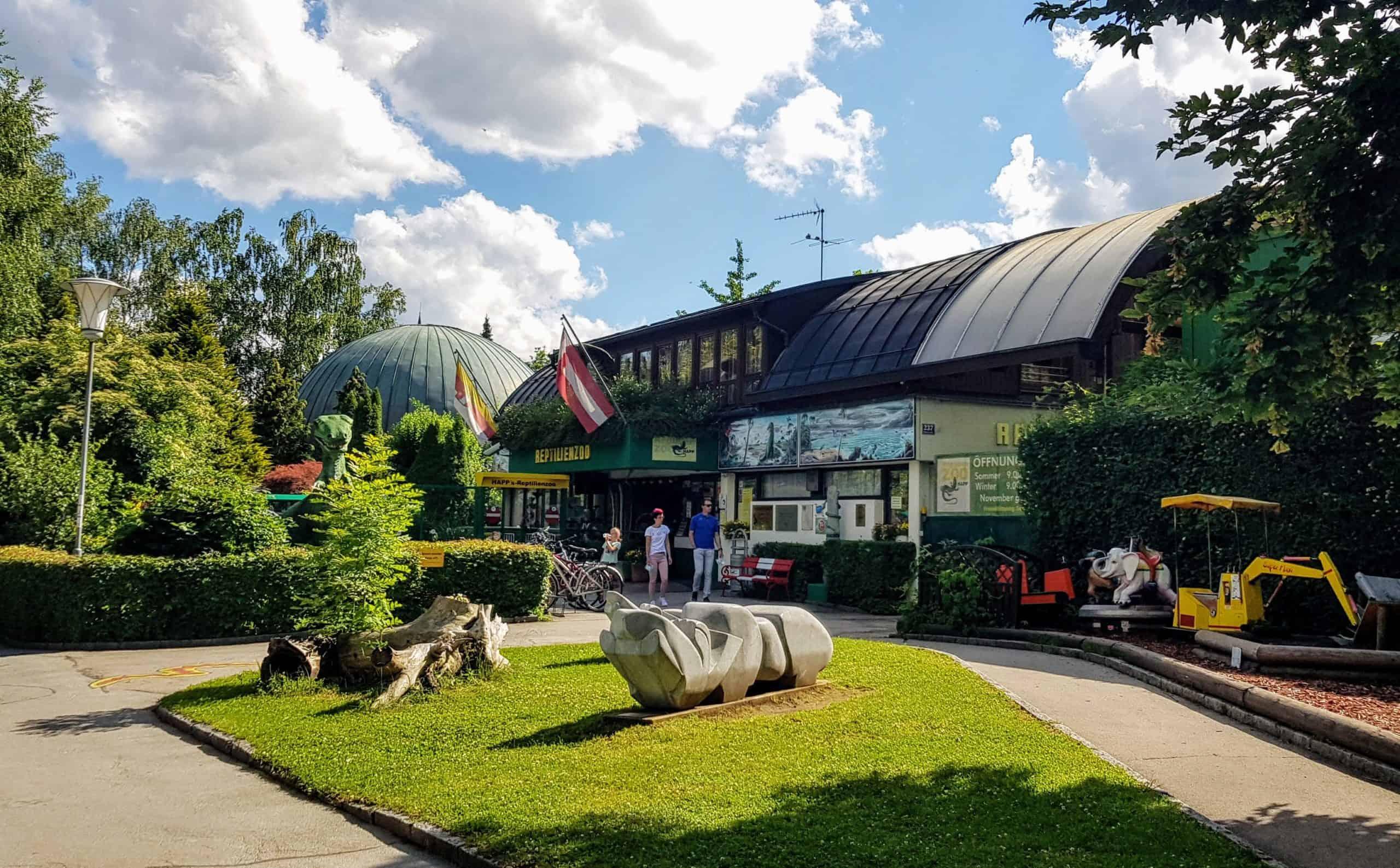 Reptilienzoo Happ - Sehenswürdigkeit & Ausflugsziel in Österreich