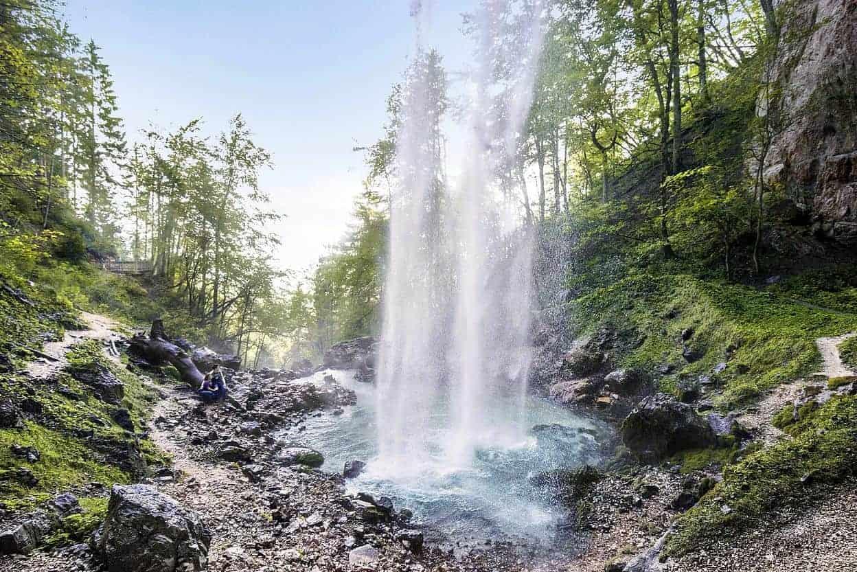 Wildensteiner Wasserfall in der Region Klopeinersee Südkärnten - Österreich