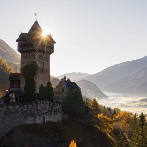 Burg Falkenstein - Ausflugsziel Nationalpark Hohe Tauern Kärnten