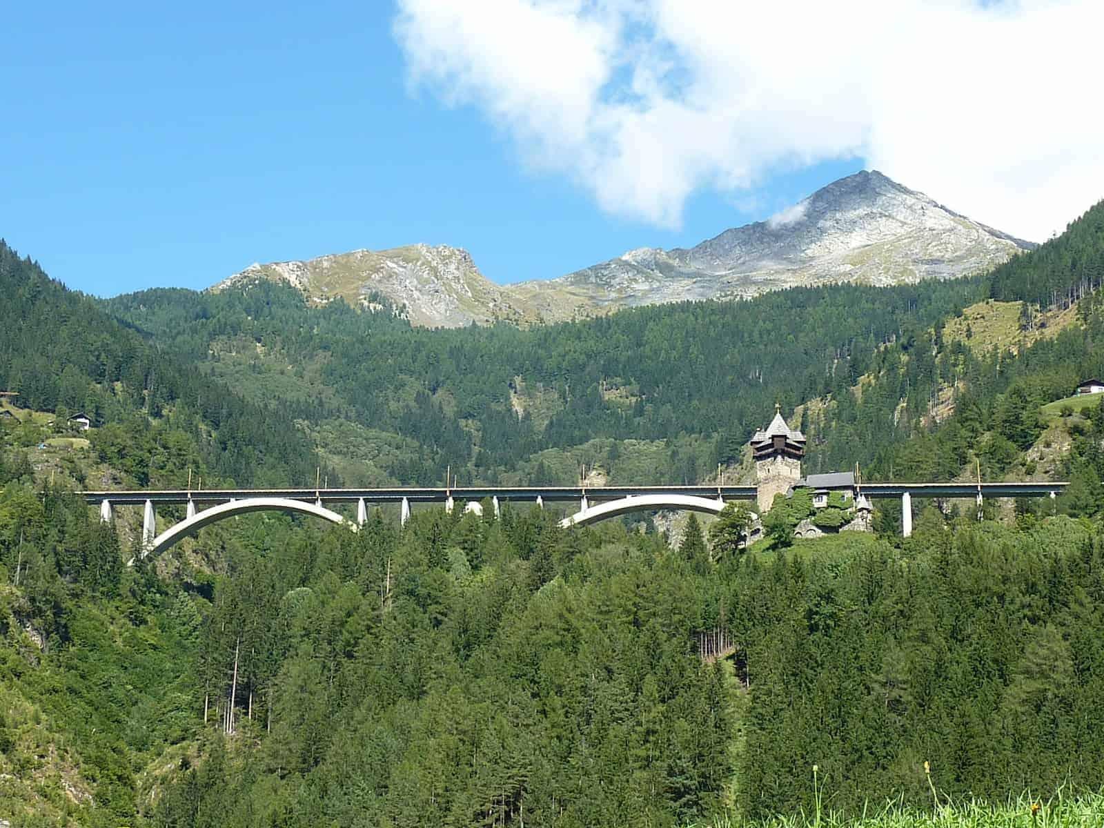 Burg Falkenstein Obervellach Reißeck Hohe Tauern Nationalpark Kärnten