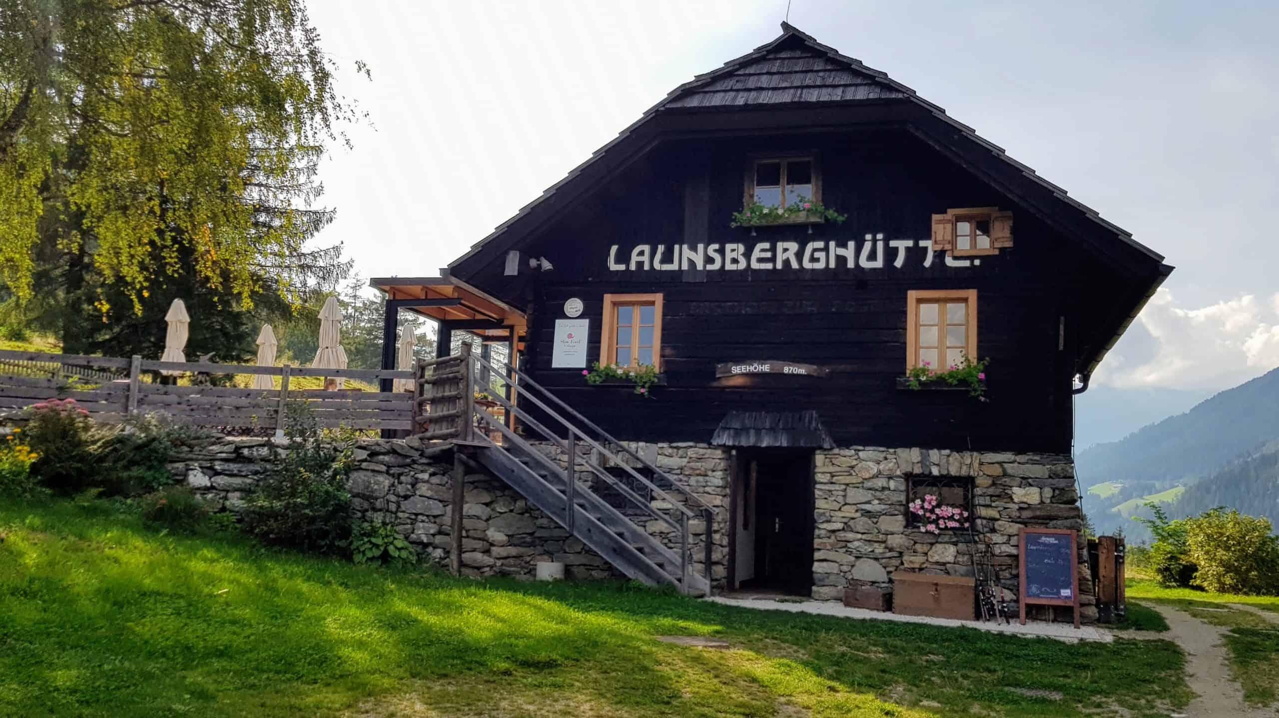 Launsberg Hütte in Obervellach - Slow Food Village im Nationalpark Hohe Tauern in Kärnten. Sehenswürdigkeiten, Wandern & Kulinarik in Österreich.