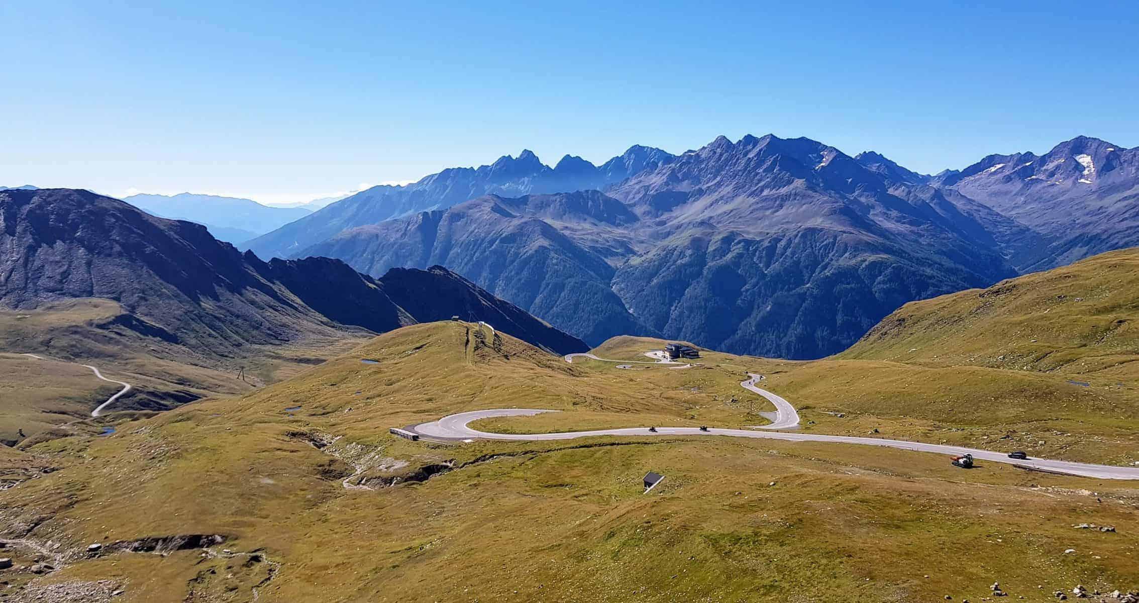 Sehenswürdigkeit Großglockner Hochalpenstraße - Panoramastraße im Nationalpark Hohe Tauern in Österreich