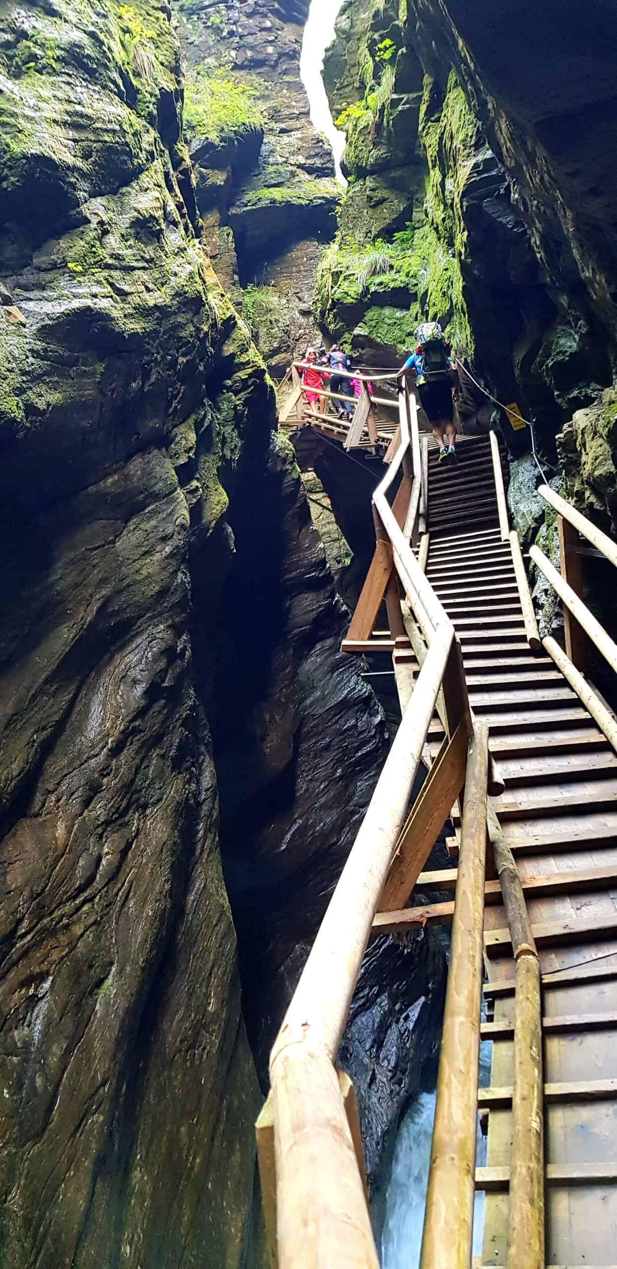 Raggaschlucht Flattach Nationalpark Hohe Tauern Kärnten - Ausflugsziel in Österreich. Gratis Eintritt mit Kärnten Card.