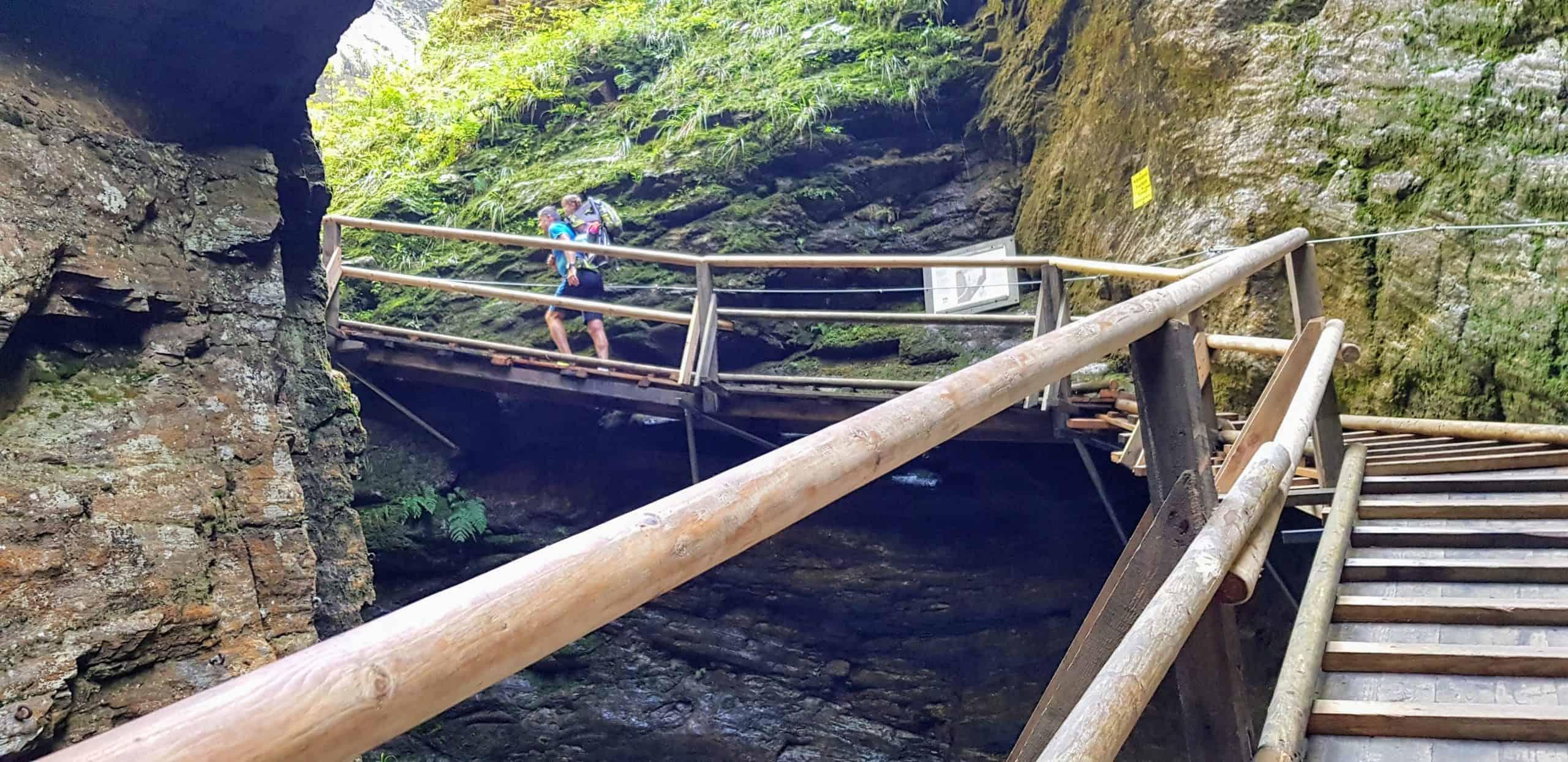 Raggaschlucht in Kärnten - Nationalpark Hohe Tauern. Sehenswürdigkeit in Österreich