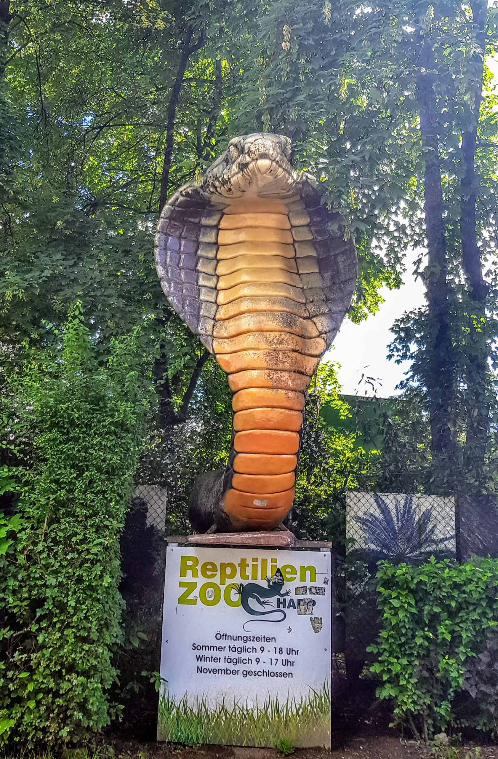 ganzjährig geöffnet - Reptilienzoo Happ - Außenbereich