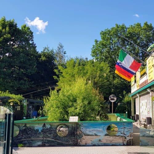 Freilandbereich Reptilienzoo Happ - Sehenswürdigkeit in Klagenfurt - Kärnten