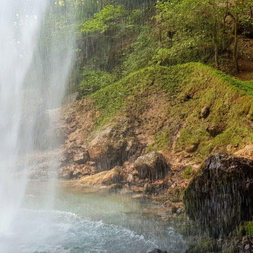 Wildensteiner Wasserfall in Gallizien - Wandern & Sehenswertes in der Urlaubsregion Klopeinersee in Südkärnten bei Österreich Urlaub