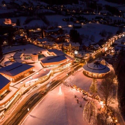 Bad Kleinkirchheim im Winter - Ski- & Wellnessort in Kärnten, Österreich