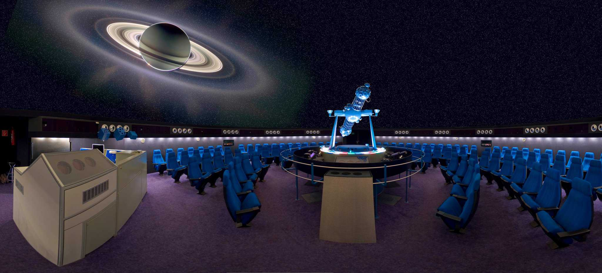 Planetarium in Klagenfurt - im Winter geöffnet