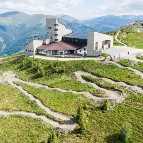 Flow Trail Bad Kleinkirchheim bei Bergstation Kaiserburg in Kärnten - Aktivitäten für Mountainbiker in Österreich