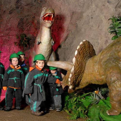 Winteraktivitäten mit Kinder für Familien in Kärnten - Ausflug in das Schaubergwerk Terra Mystica bei Villach