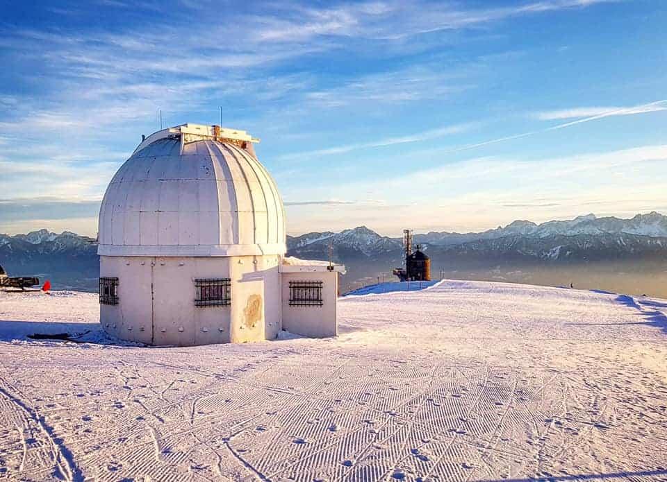 Winteraktivitäten Kärnten Sternwarte Gerlitzen Alpe
