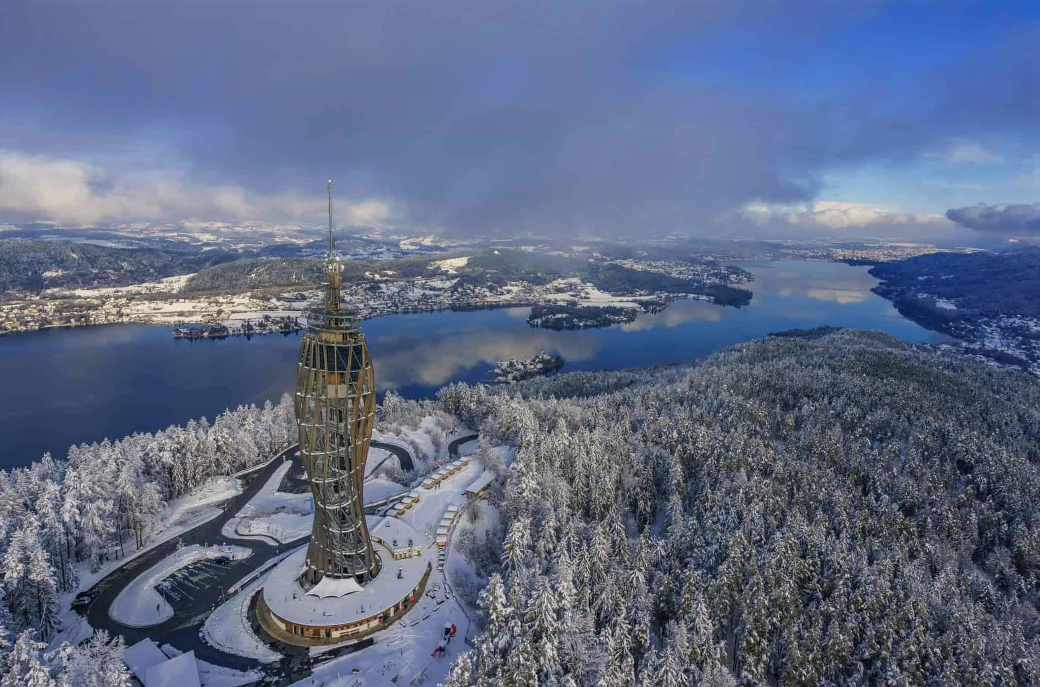 Pyramidenkogel - Winter Aktivitäten & Ausflüge am Wörthersee in Österreich