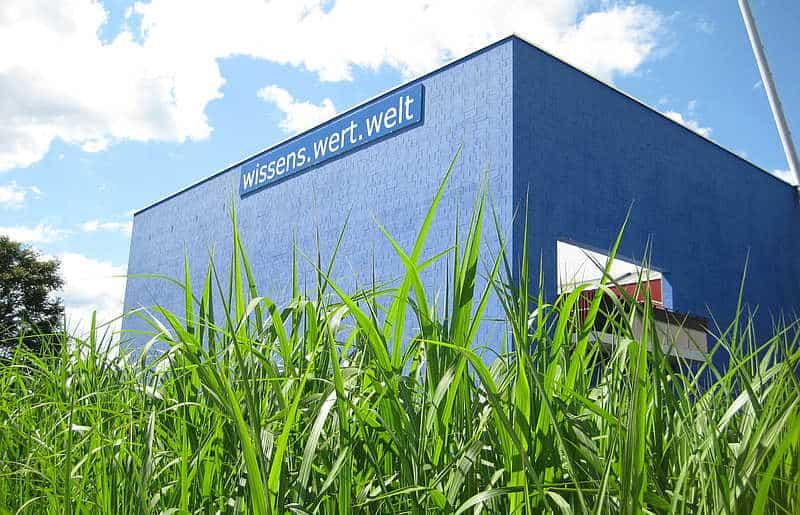 Blue Cube Mitmach-Museum Wissens.wert.welt in Klagenfurt am Wörthersee in Kärnten - auch im Winter geöffnet.
