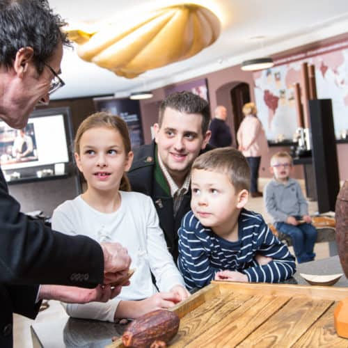 Winterausflug Schokoladenmanufaktur Craigher in Kärnten mit Familie und Kindern