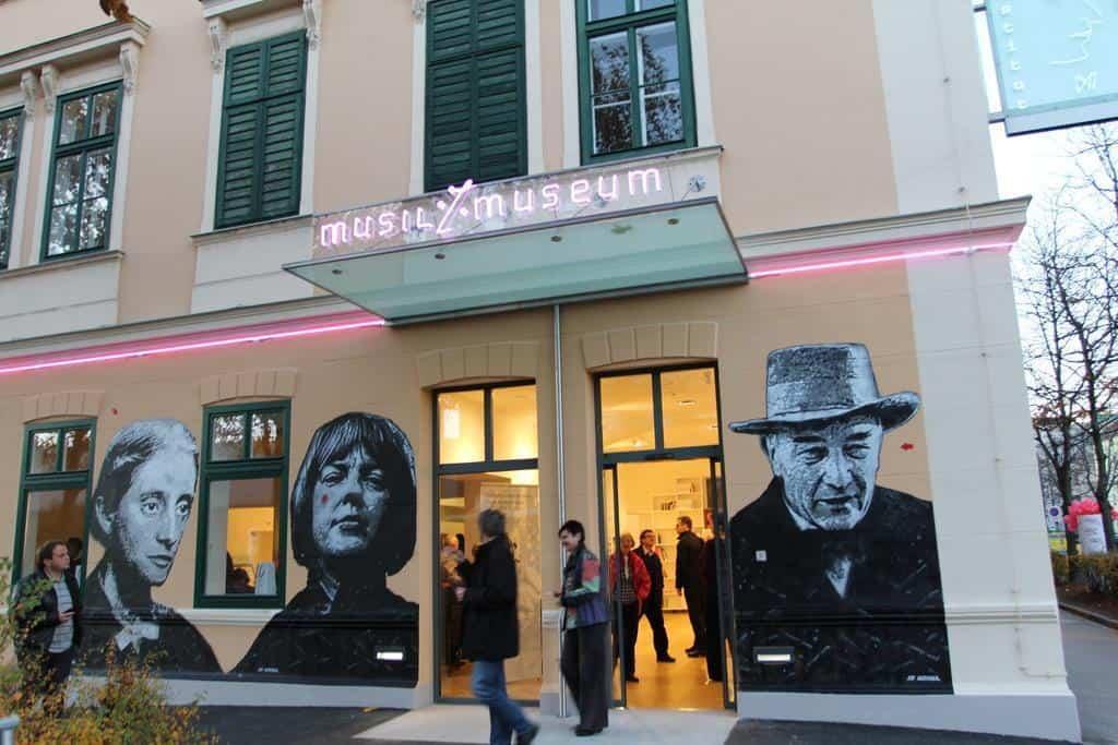 Robert Musil Literaturmuseum in Klagenfurt am Wörthersee - geöffnet im Winter
