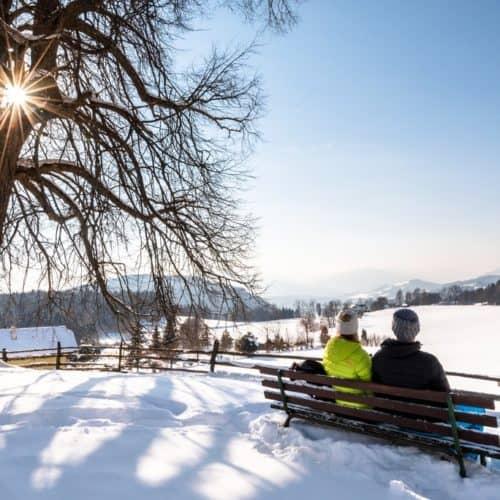 Winterwanderung in Kärnten bei Österreich-Urlaub