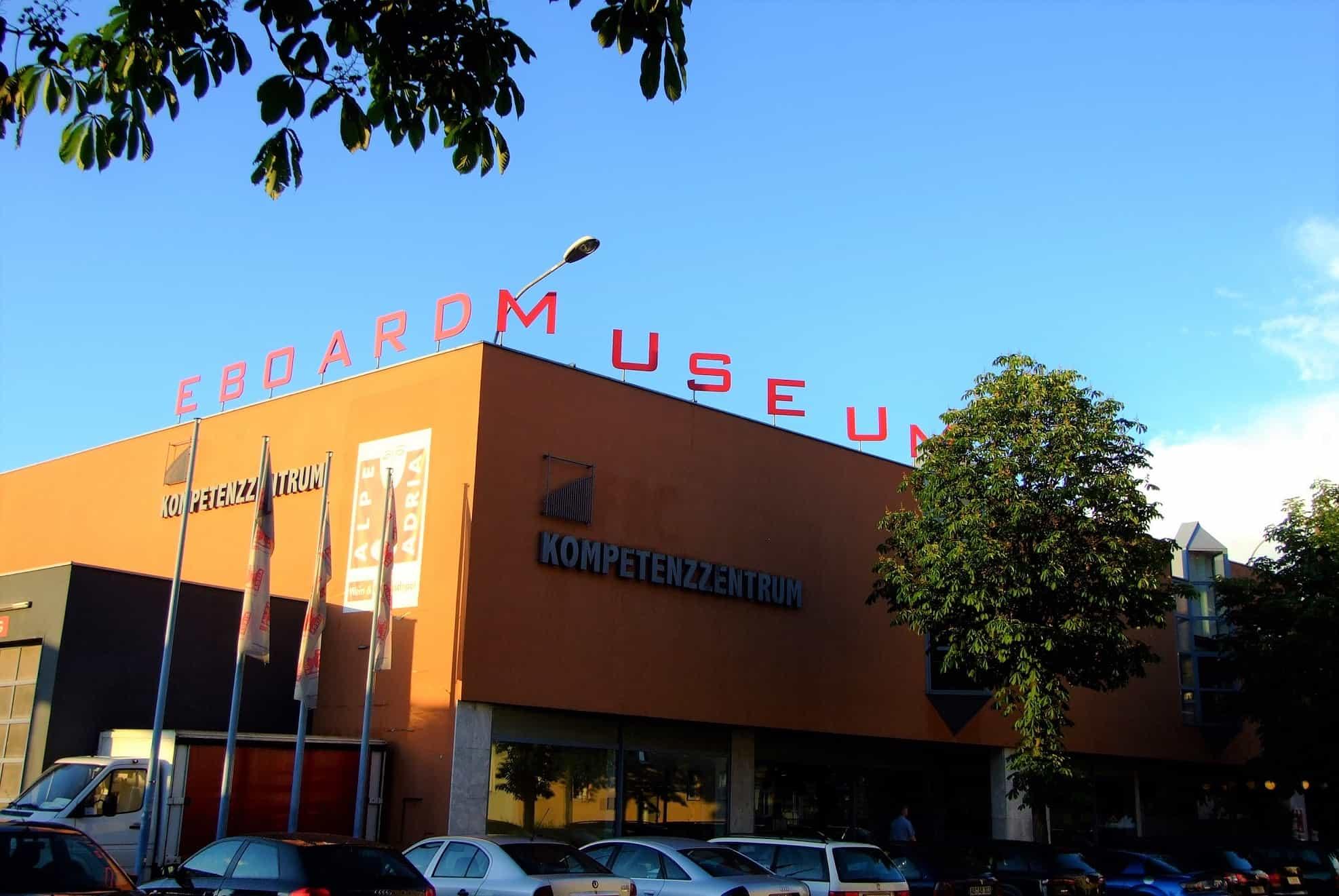 Eboardmuseum in Klagenfurt am Wörthersee - auch im Winter geöffnetes Ausflugsziel in Kärnten, Österreich