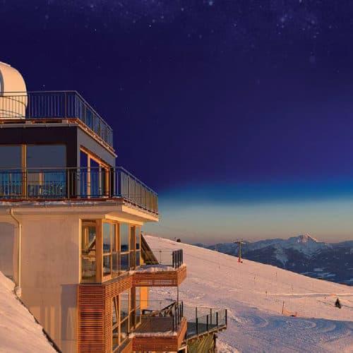 Sternwarte Pacheiner auf der Gerlitzen Alpe in Österreich - Winteraktivitäten & Ausflugsziele in Kärnten